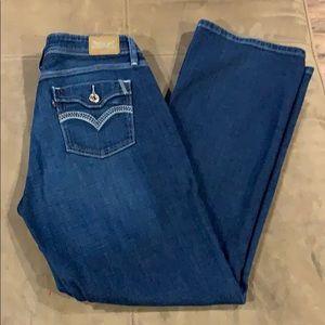 Women's Levi's 529 Jeans Bootcut Curvy 12 Stretch